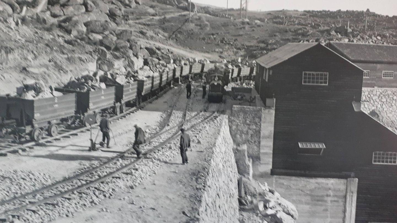 El salto hidroeléctrico empezó a producir en 1935. (Ayto. de Muelas del Pan)
