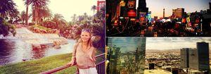 Fernado Alonso y Dasha Kapustina celebran su primer año de amor en Las Vegas