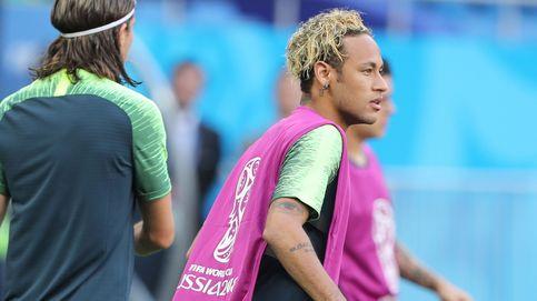 Los espaguetis en la cabeza de Neymar y otros regates en la peluquería