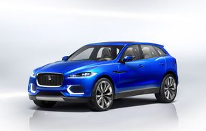 Primeras imágenes del futuro todocamino de Jaguar