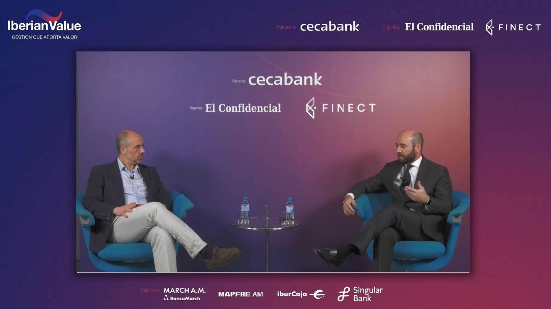 Vicente Varó, CCO de Finect, y Carlos Val-Carreres, director Value Strategy Fund.