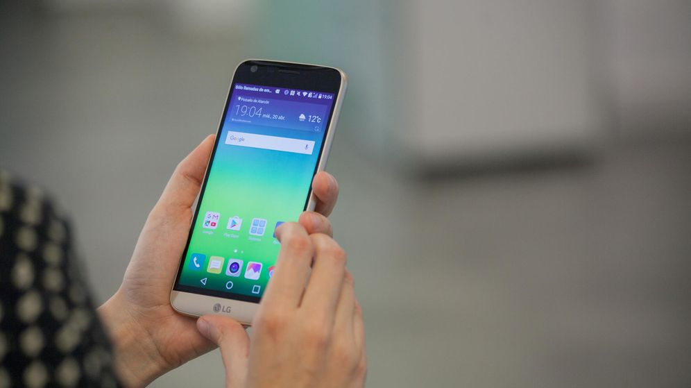 Foto: El LG G5 es un tímido intento por lograr un teléfono modular. (Enrique Villarino)