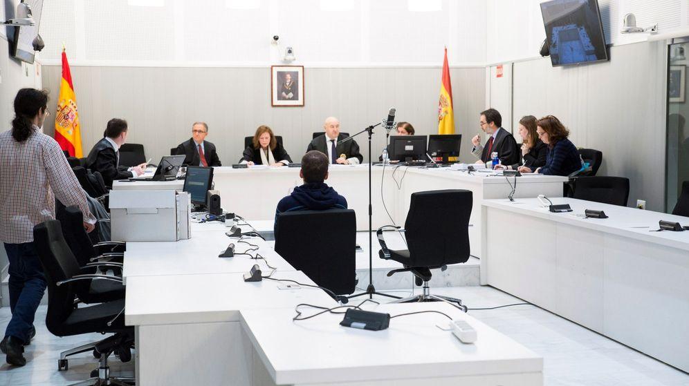 Foto: Juicio al etarra Gorka Joseba Lupiañez. (EFE)
