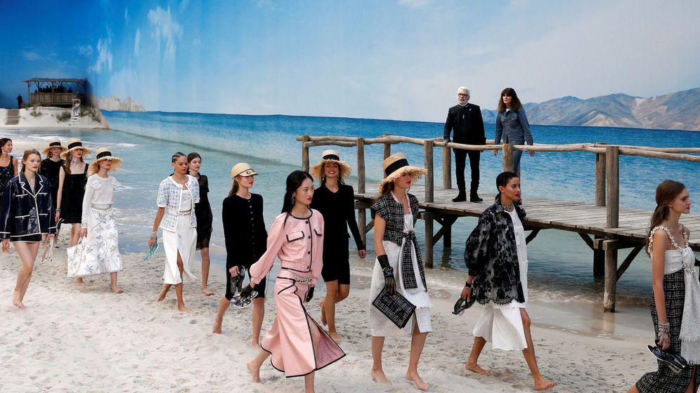 Foto: Colección PV2019 de Chanel. (Reuters)