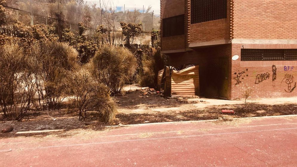 Foto: Parte trasera del edificio de Tielmes que iba a albergar el museo de criminología.