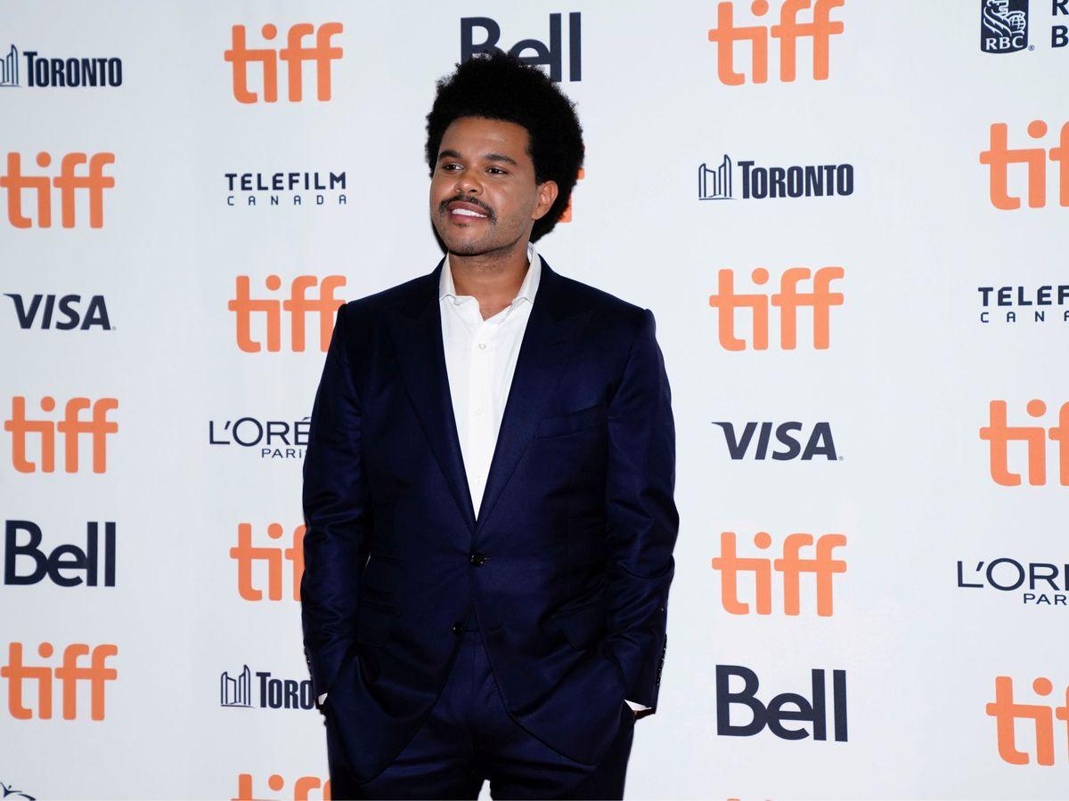 Foto: Abel Makkonen Tesfaye, conocido como The Weeknd, en el Festival Internacional de Cine de Toronto (Reuters/Mark Blinch)
