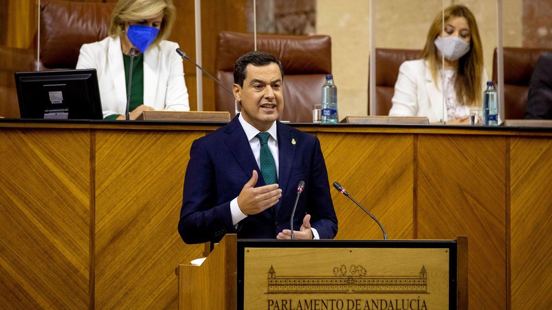 Moreno centra desde Andalucía el discurso del PP en la víspera de la moción de Vox