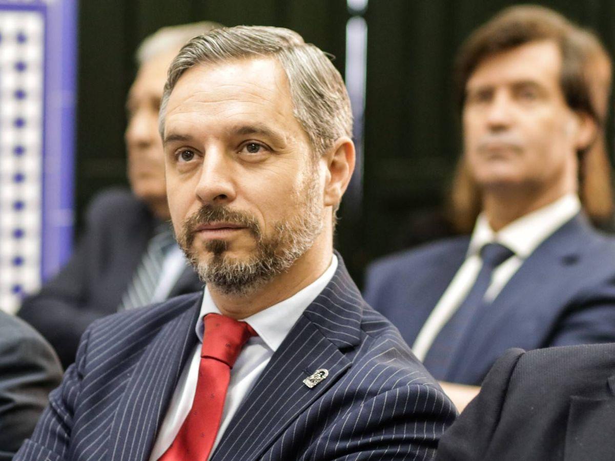 Foto: Juan Bravo, consejero de Hacienda, Industria y Energía de la Junta de Andalucía.