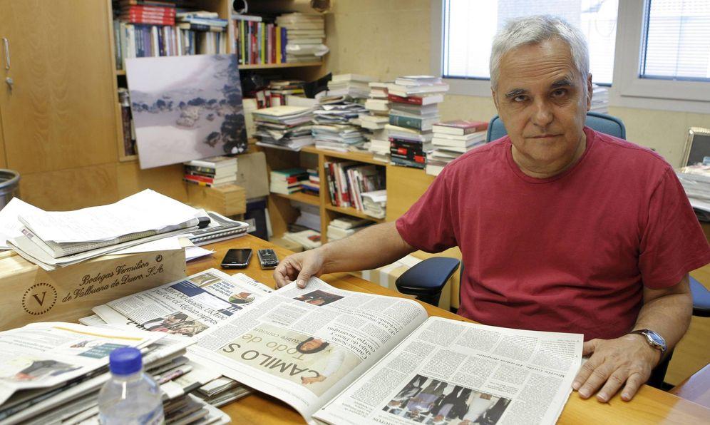 Foto: El escritor y periodista Juan Cruz. (EFE)