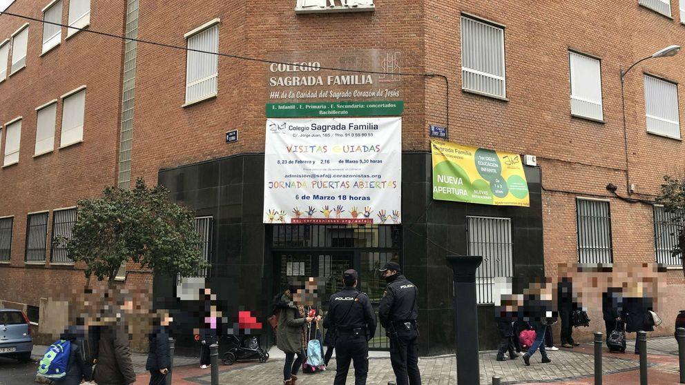 Nuevo intento de secuestro a la salida de un colegio en Madrid: la niña logró escapar