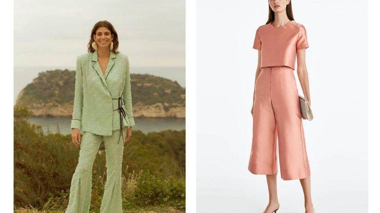 Dos opciones diferentes de looks con pantalón.