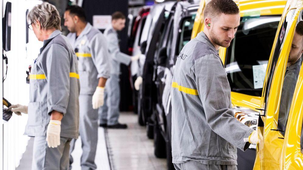 Foto: Fábrica de Renault (Efe)