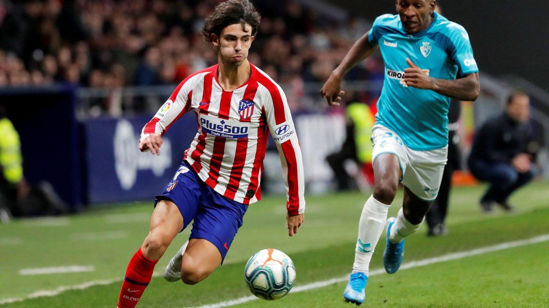Joao Félix fue el mejor del Atlético de Madrid ante Osasuna. (Reuters)