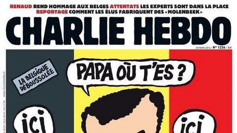 La polémica portada de 'Charlie Hebdo' tras los atentados de Bruselas