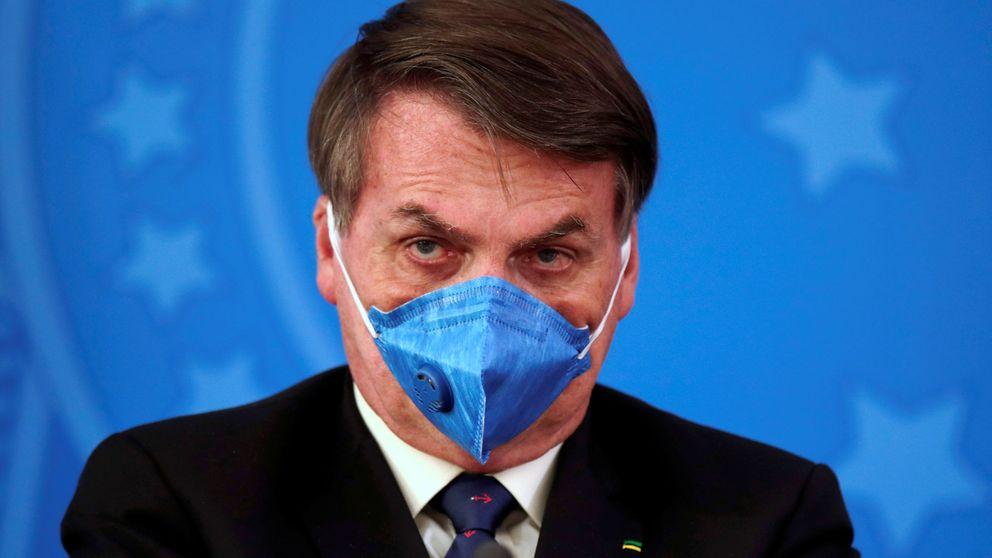 Bolsonaro asegura que el brasileño no se contagia por el virus aunque hay 77 muertos