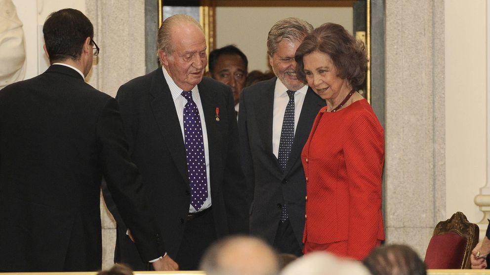 Las lágrimas del Rey Juan Carlos en la presentación del libro de Simeón de Bulgaria
