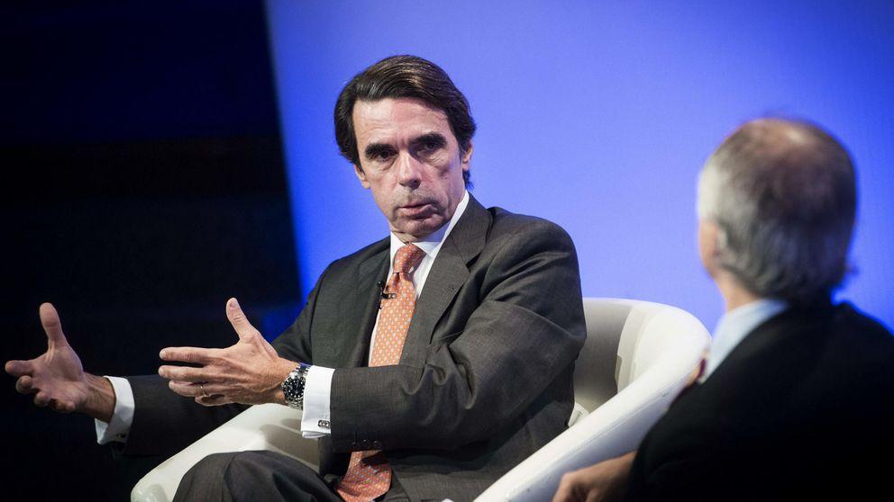 Aznar 'reaparecerá' en el debate de investidura y aniversario de su victoria