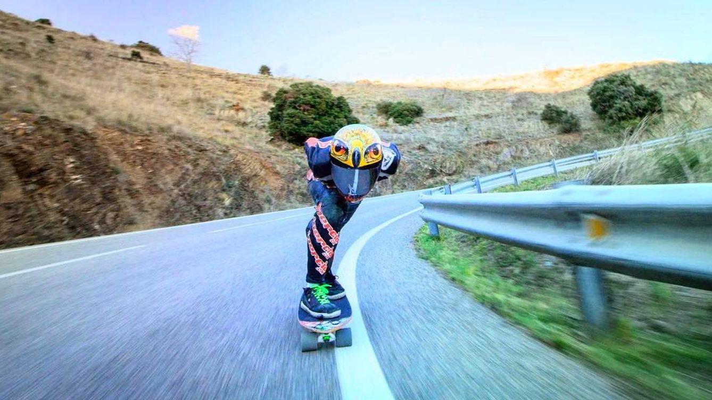 Foto: Imagen de un descenso por carretera. (WRG)