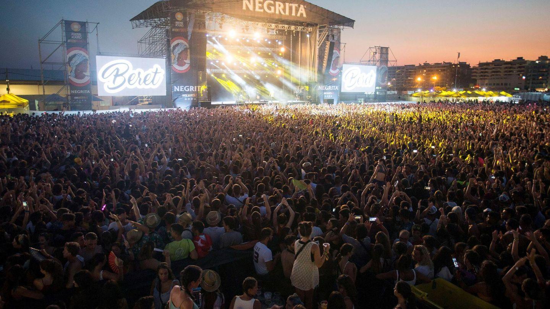 El escenario secundario del Arenal Sound 2018. (EFE)