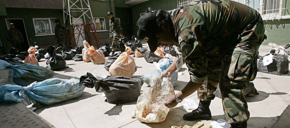 Decomisan en Bolivia una tonelada de cocaína peruana con destino a Argentina (Efe).