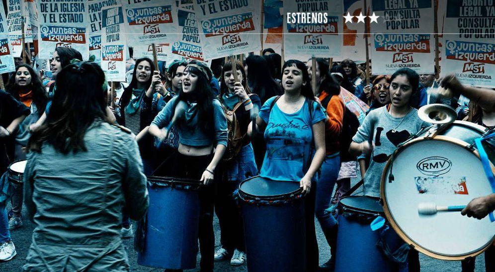 Foto: Las movilizaciones sociales de 'La ola verde'. (Caramel)