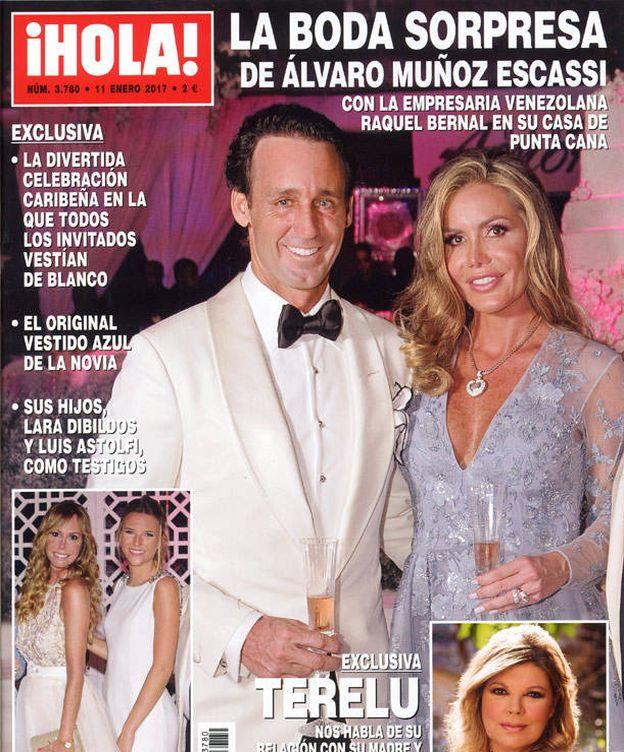 Foto: Portada de la revista '¡Hola!'