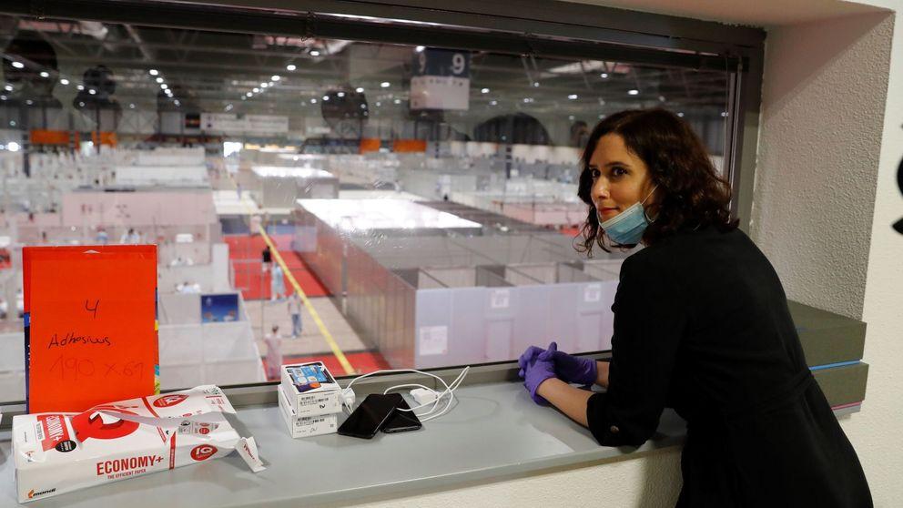 Díaz Ayuso, presidenta de la CAM: Ojalá hubiéramos hecho todo antes