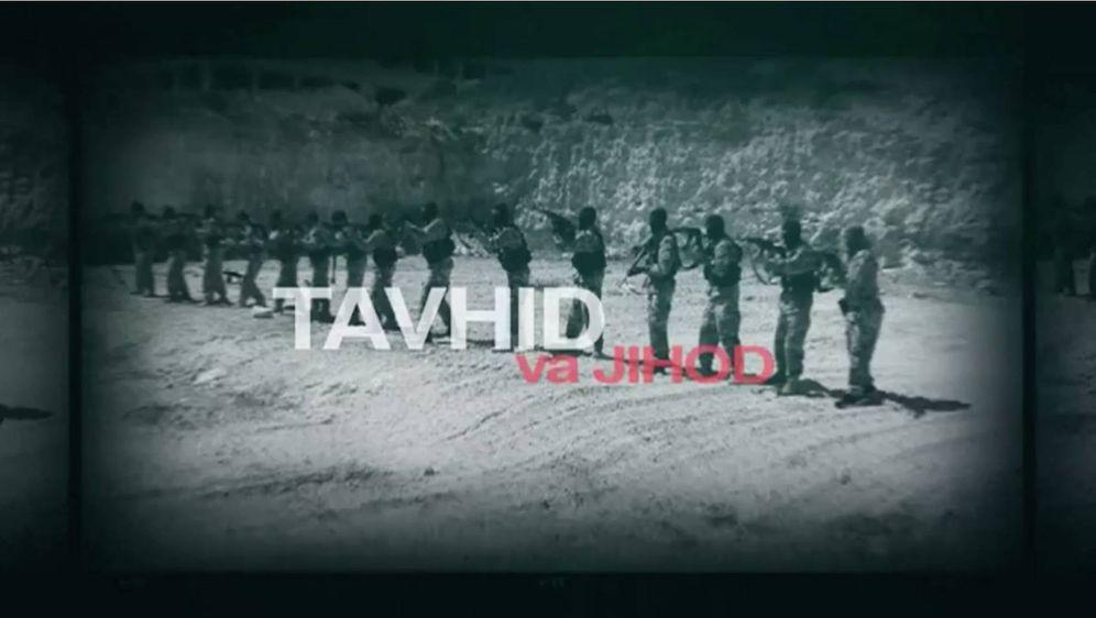 Foto: Imagen de un vídeo de los entrenamientos de Tavhid va Jihod.