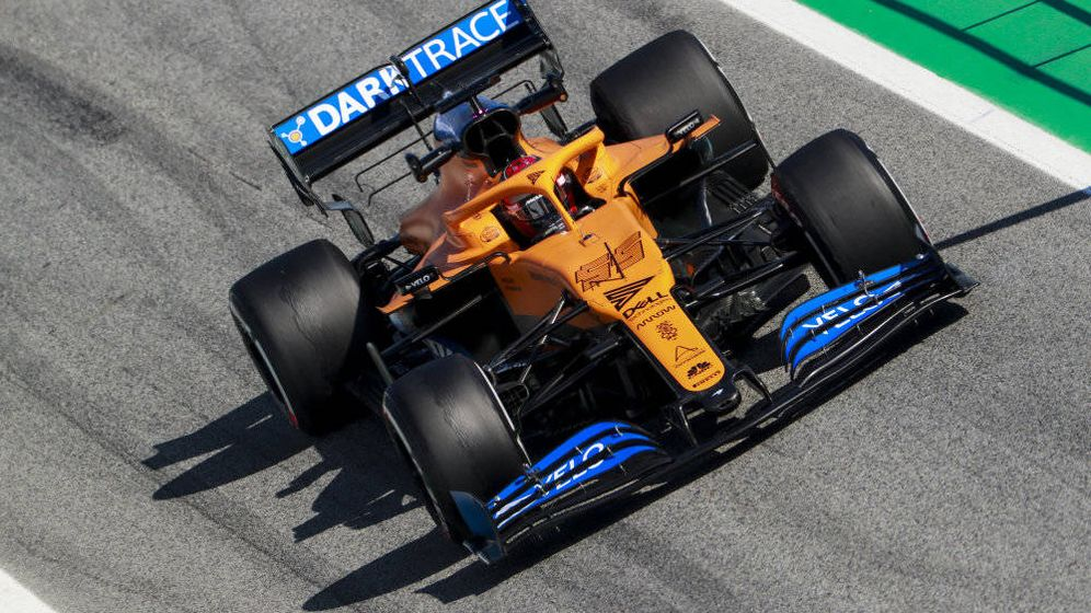 Foto: McLaren ha planteado una primera semana con un monoplaza `básico' a la búsqueda de kilometraje y fiabilidad (McLaren)