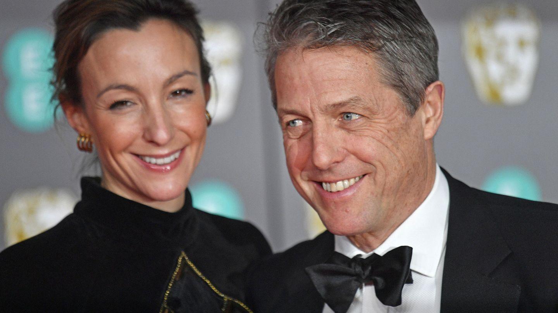 Con su mujer, Anna Eberstein. (Reuters)