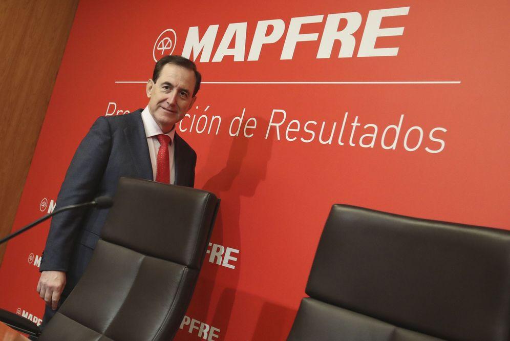 Foto: El presidente de Mapfre, Antonio Huertas.