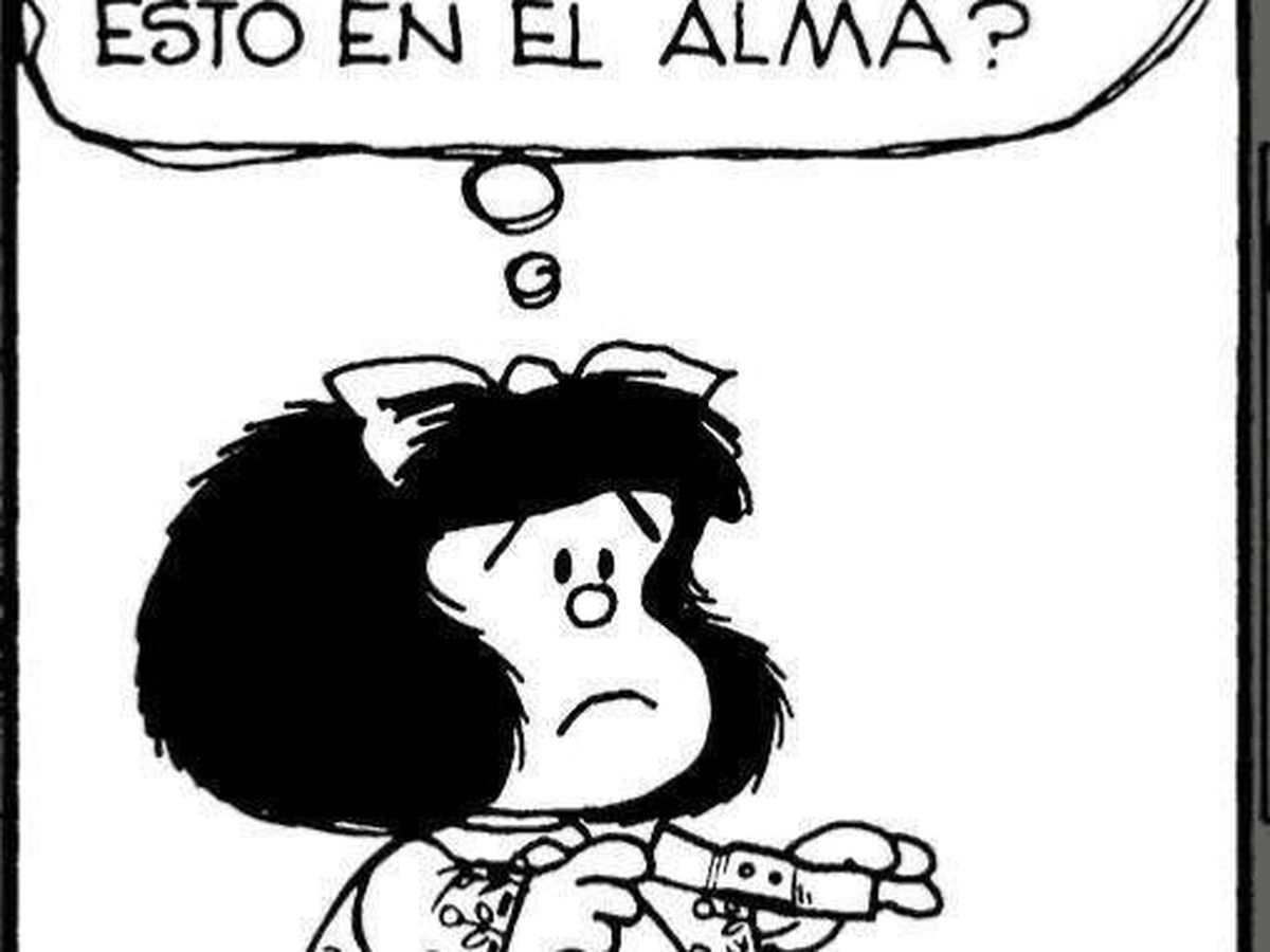 Foto: Una viñeta de Mafalda, el personaje de Quino (Twitter)