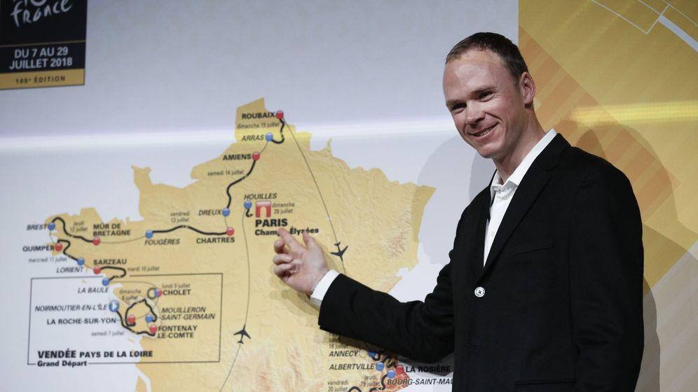 Foto: Froome buscará en Francia su quinto Tour. (EFE)