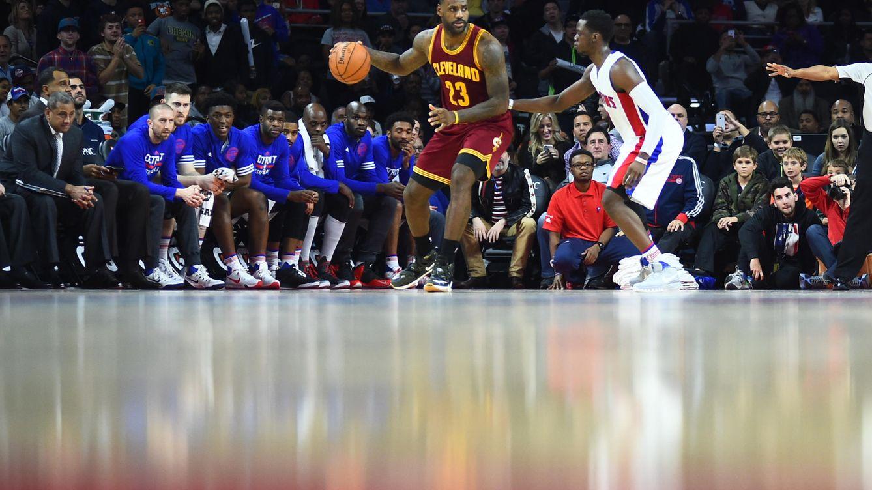 the best attitude f6b33 2f48f Foto LeBron James busca su primer anillo con los Cleveland Cavaliers (Tim  Fuller