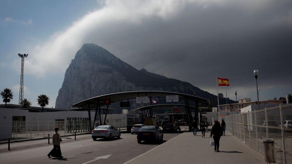 Foto: Frontera de Gibraltar, en La Línea de la Concepción. (Reuters)
