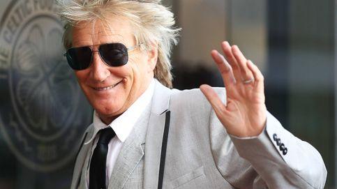 Rod Stewart: ni drogas ni alcohol, mejor trenes de juguete