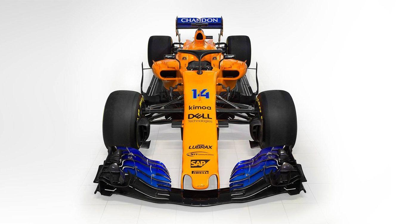 Foto: El nuevo MCL33 de Fernando Alonso y Vandoorne.