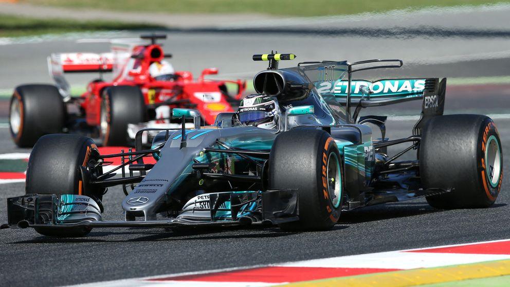 ¿'Sartenazo' de Mercedes o mal día de Ferrari? Su coche es una locura