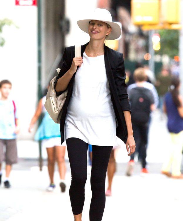 Foto: Karolina Kurkova en Nueva York en septiembre (Gtres)