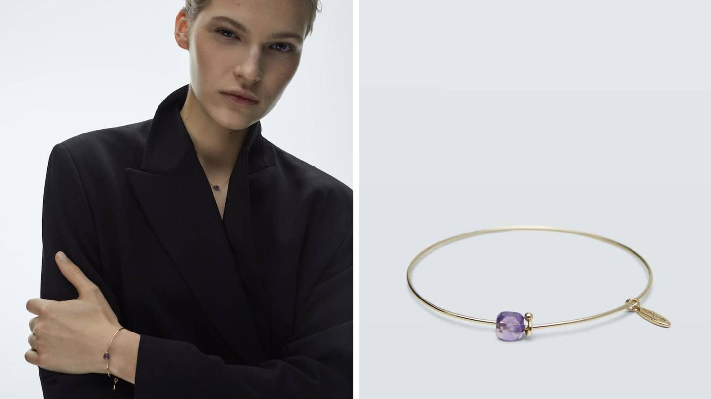 Collares y pulseras enero y febrero de Massimo Dutti. (Cortesía)