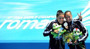 Gemma Mengual y Andrea Fuentes logran una nueva plata