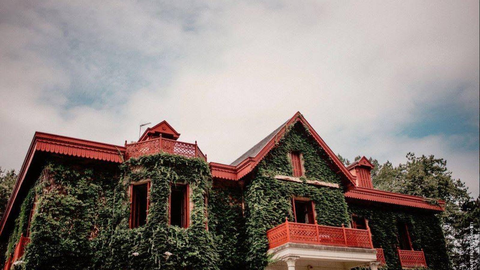 Foto: La fachada del palacio de Arbaizenea. (www.arbaisenea.com)
