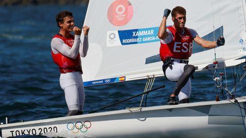 Jordi Xammar y Nico Rodríguez logran la medalla de bronce en la clase 470 de vela