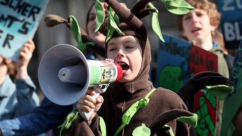 Manifestación por el cluma en Colonia