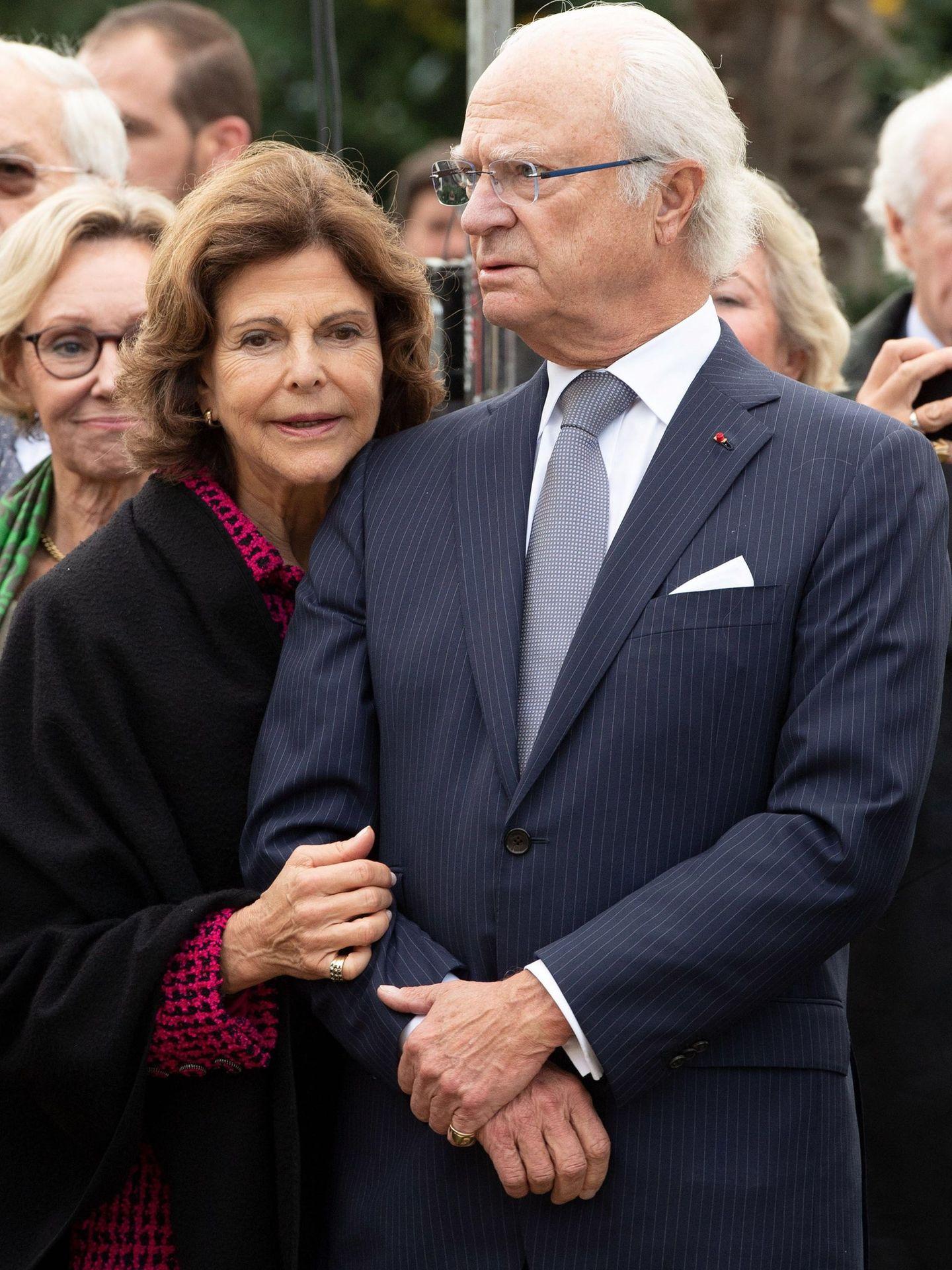 Carlos Gustavo y Silvia de Suecia (EFE)