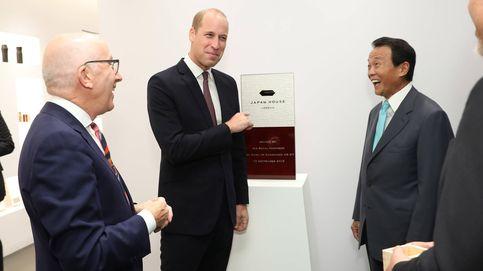 La metedura de pata (laqueada) de Guillermo ante el primer ministro japonés
