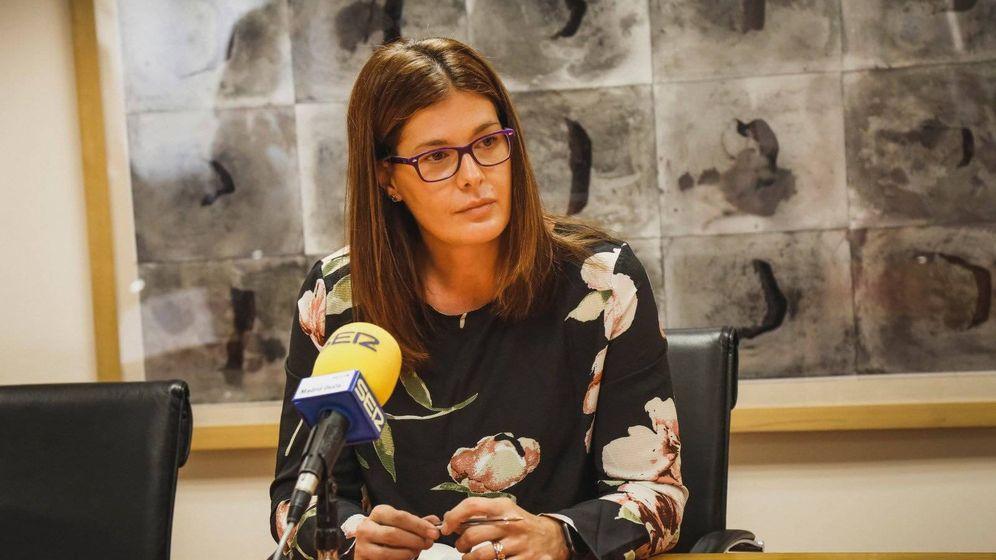 Foto: La alcaldesa de Móstoles, Noelia Posse
