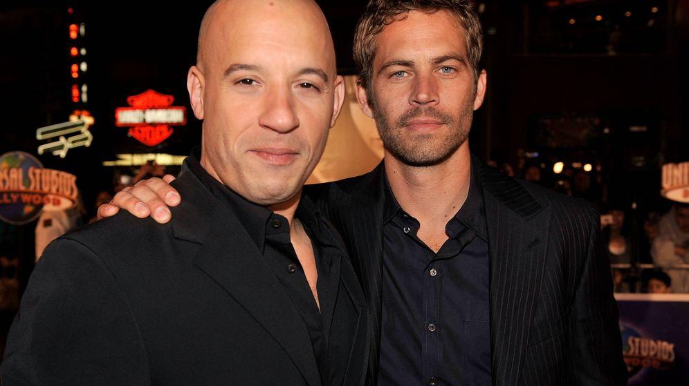Foto:  Vin Diesel y Paul Walker, en 2009. (Getty)