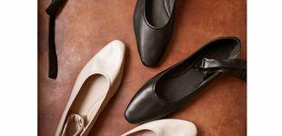 Post de Estas bailarinas de Massimo Dutti de piel son ideales para un otoño en la oficina