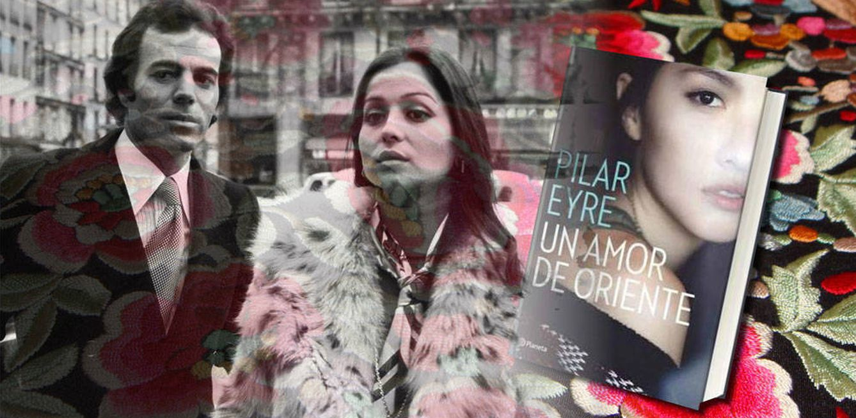 Foto: Isabel Preysler, Julio Iglesias y la portada del libro (Fotomontaje de Vanitatis)